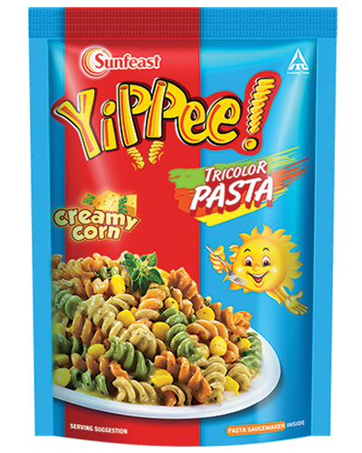 yippee! pasta Cream Corn