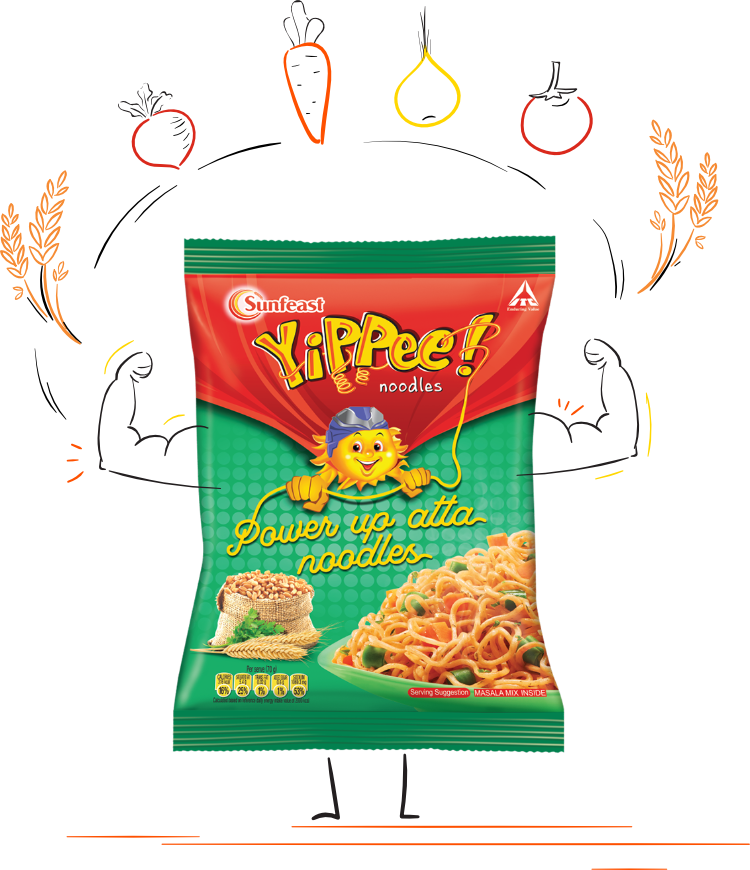 yippee! power up atta noodles