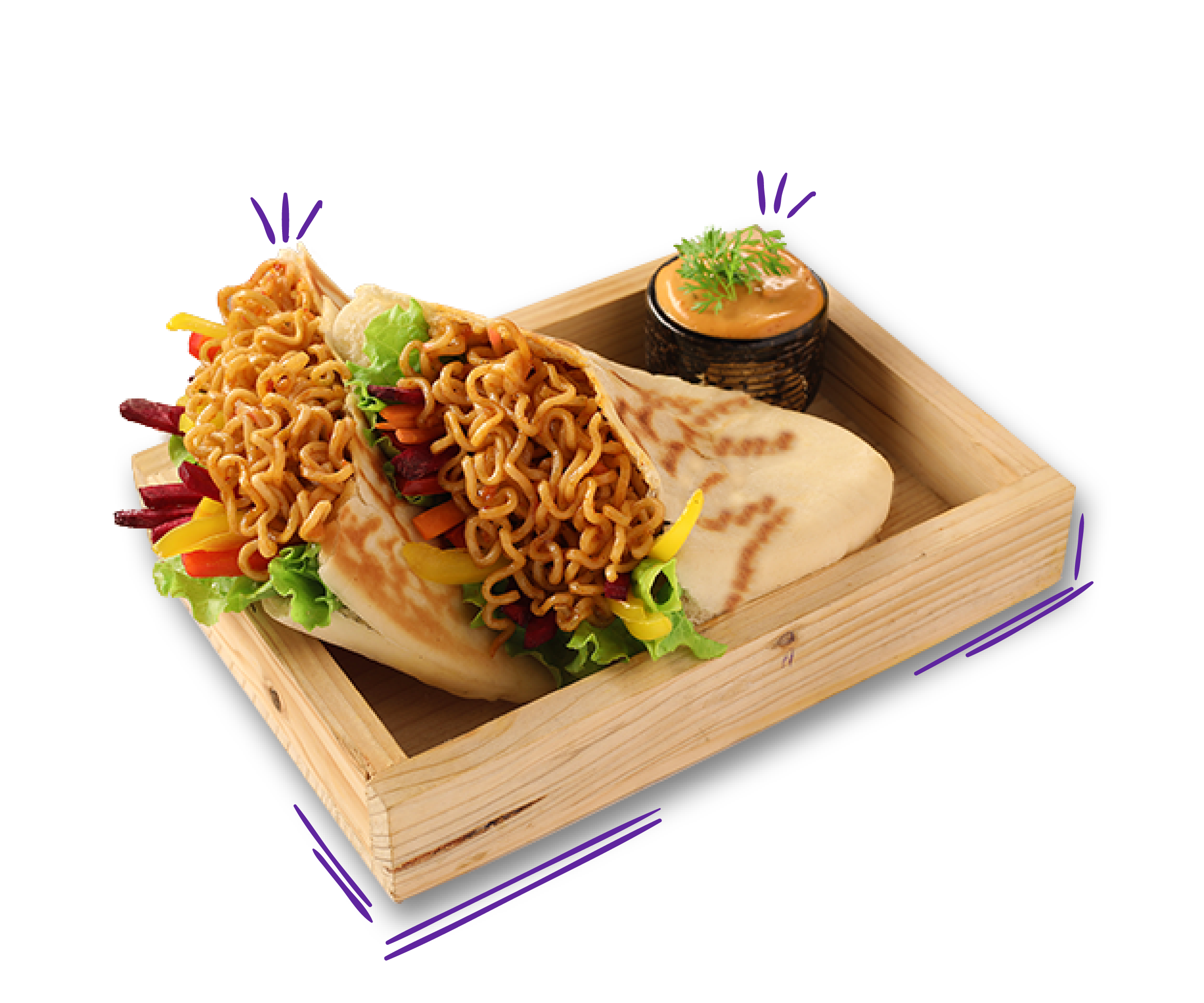 Noodles Shwarma